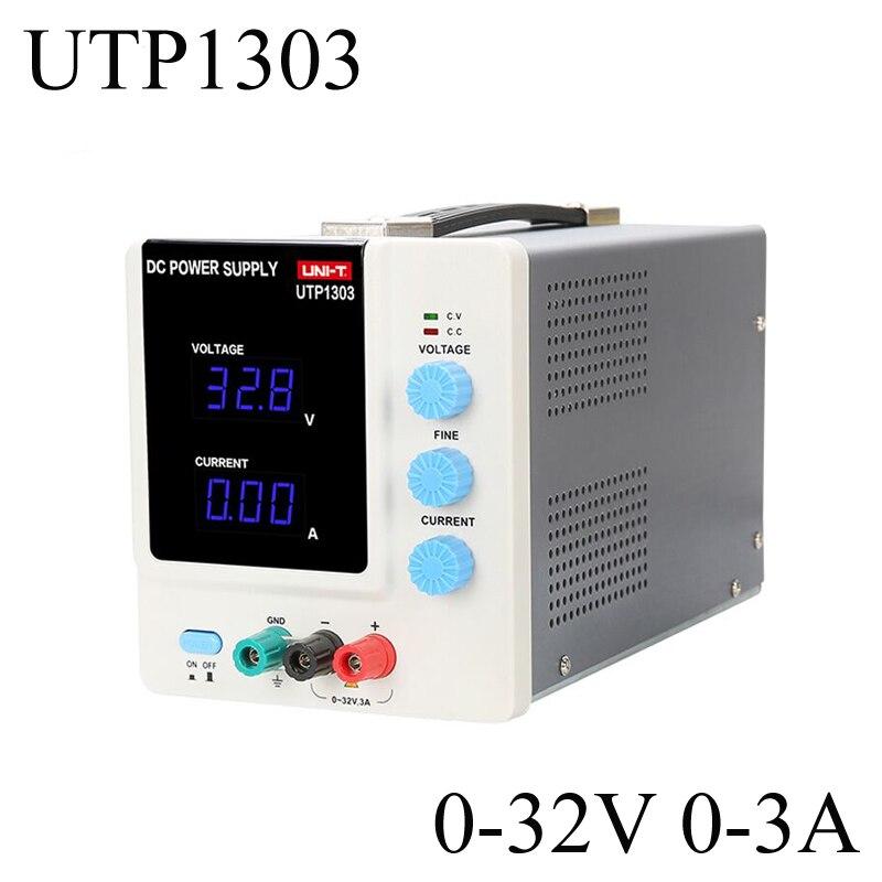 UNI-T UTP1303 DC Power Supply Adjustable dc regulated power 32V 3A Constant Current Function 1206 3a 32v 0466003