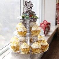 Bánh 3 Tầng Đứng Cho Wedding Birthday Cake Giữ Cupcake Cupcake Hiển Thị Nguồn Cung Cấp Tiệc Cưới Cup cake Đứng
