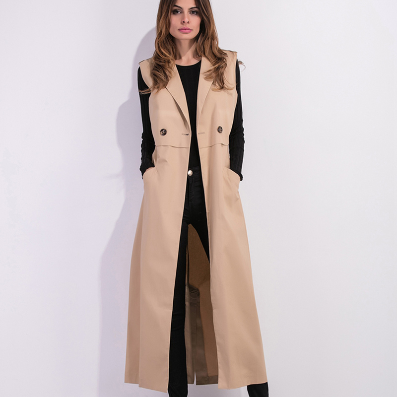 Trench   coat for women warm ladies female coats woman winter 2018 new arrivals fashion winter coat for women trenchcoat KK2628