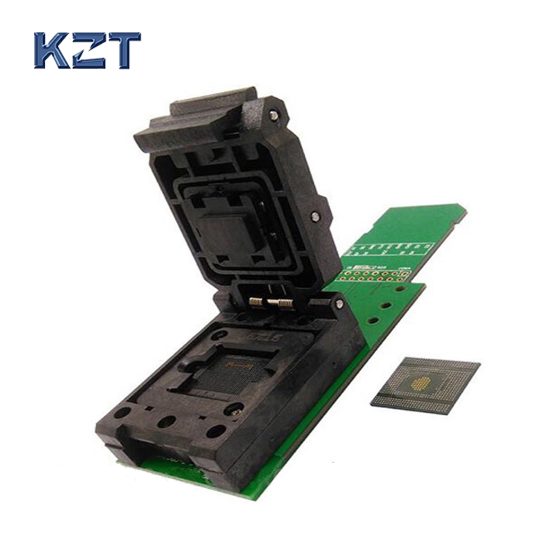 цена на EMCP529 BGA529 socket adapter mobile phone font test reading re-writing the SN code and wifi information