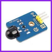 2pcs/lot Human Infrared Pyroelectric Sensor PIR Detection Motion Sensor For Arduino