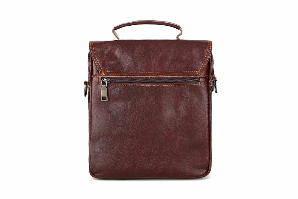 Topdudes.com - Luxury Genuine Cow Leather Business Shoulder Bags