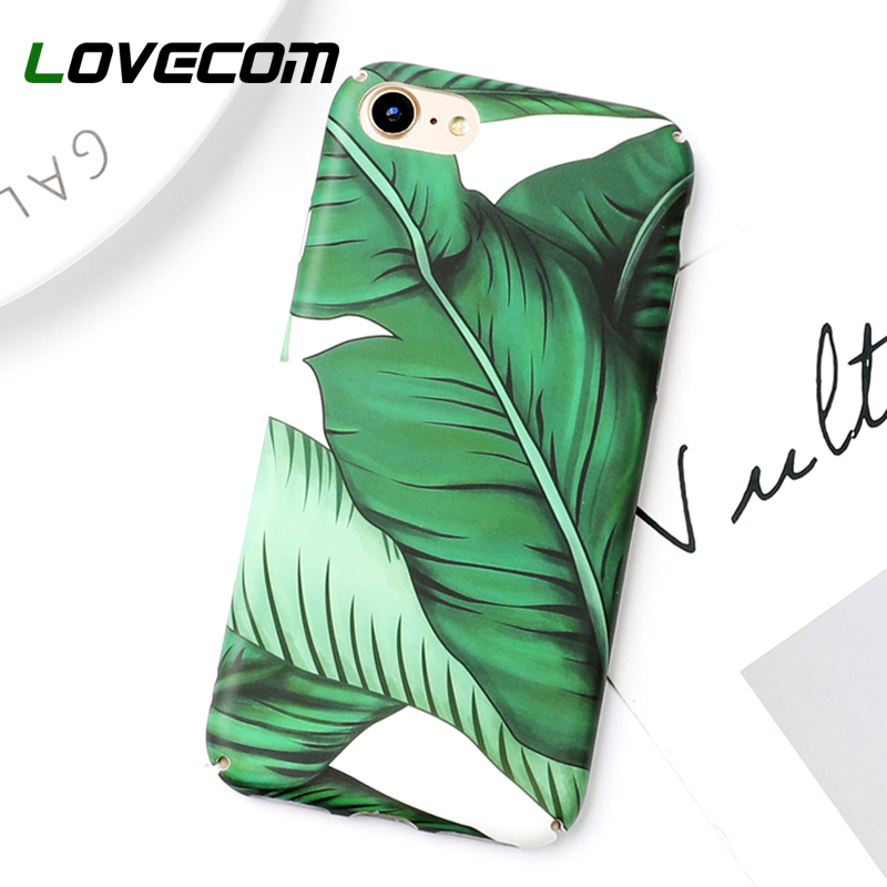 LOVECOM Hot Summer Banana Leave Protictive Case for iPhone