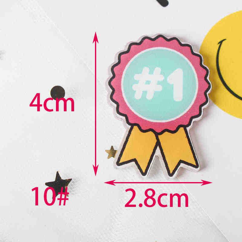 Candy regenbogen 1PCS Malerei cartoon mix skeleton für Kleidung Acryl Abzeichen Kawaii Icons auf Die Rucksack Pin Brosche Abzeichen z74