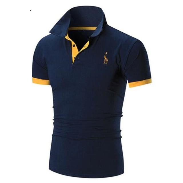 2018 Fashion Summer T Shirt Male Short Sleeved Male City Bulb Light Printed Casual Tees Tops Brand T-Shirts Men Clothing 5631
