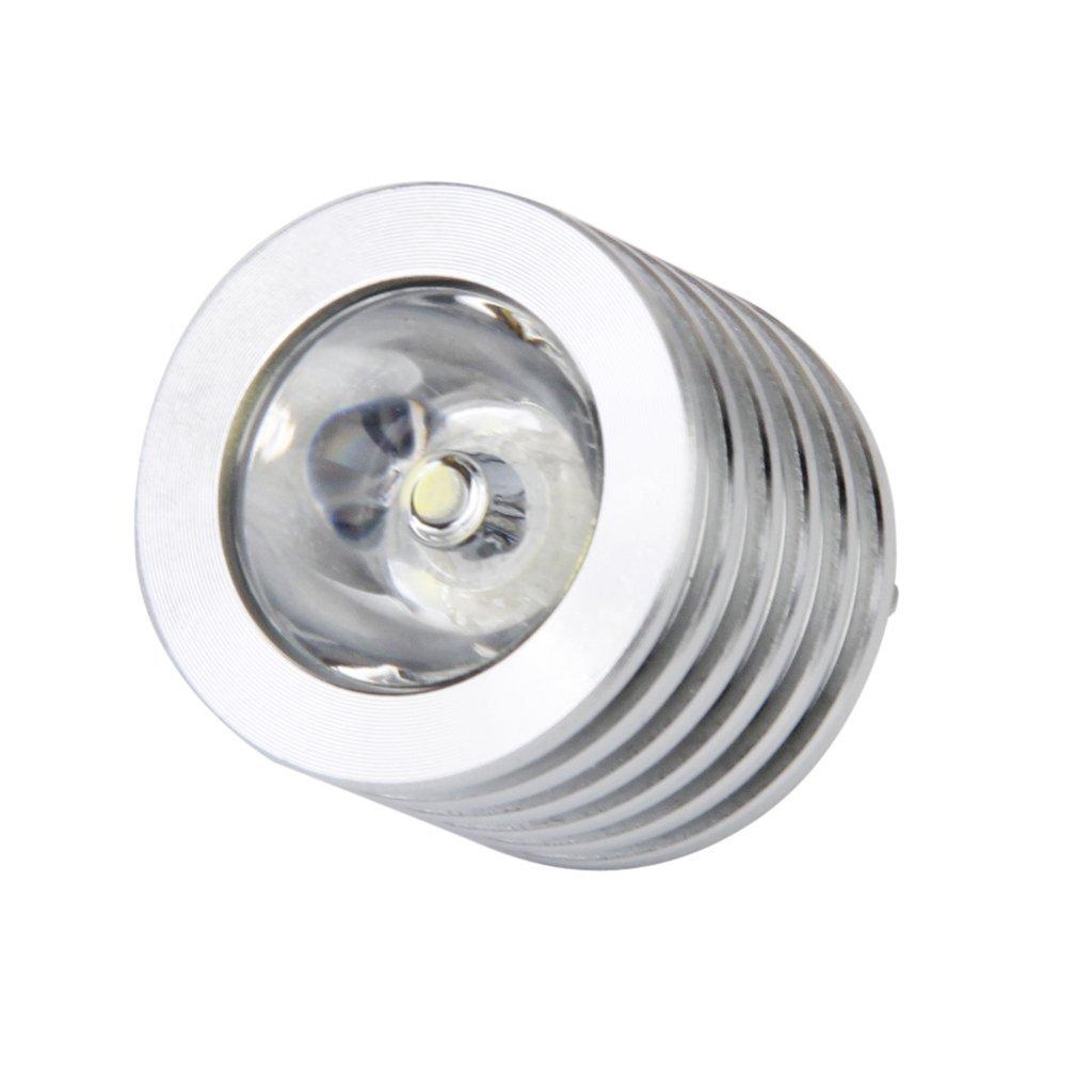 Aluminum 3W USB LED White  Lamp Socket Spotlight Flashlight White Light