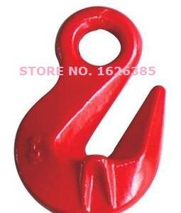 10 T G80 Bindeglied Kette Industriequalität Hebe Rigging Hardware Geschmiedete Stahllegierung Kettenverschluss Hoist Heimwerker Ketten 8ton