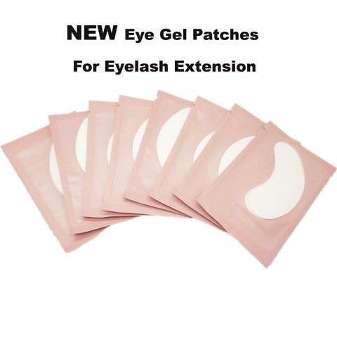 hot sale 1000 pares lote almofadas de seda do olho sob o olhar remendo removedor