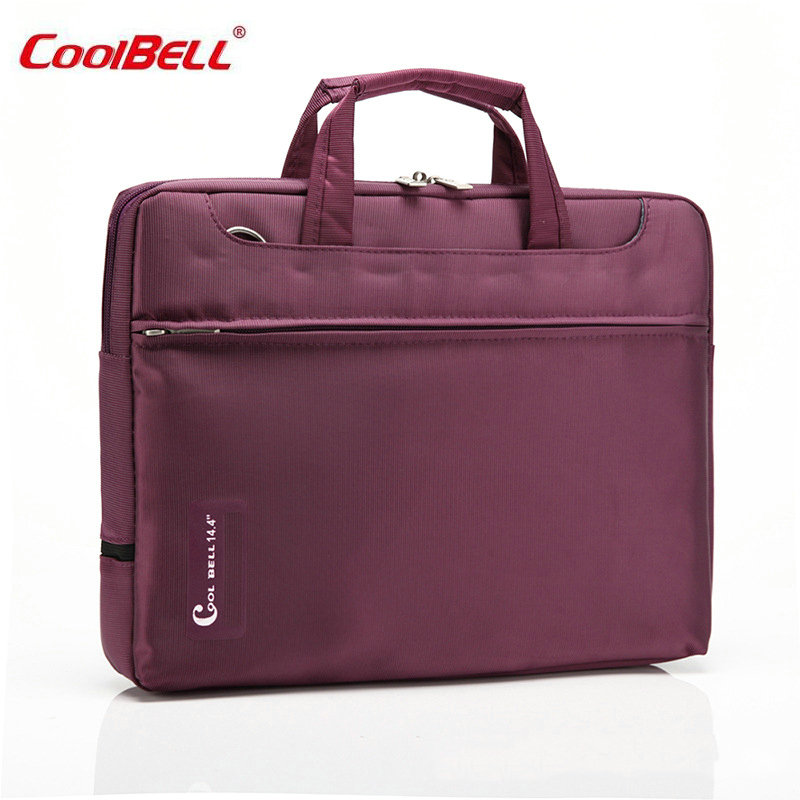 COOLBELL 15.6 inch Notebook Computer Laptop Sleeve Bag for Men Women Cover Case 15 Briefcase Shoulder Messenger Bag-FF
