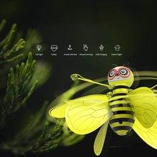 Cartoon Bee Mini Drone Infrarood Inductie Hand Control UFO Hoogte Hold RC Training Quadcopter voor Kinderen Kids