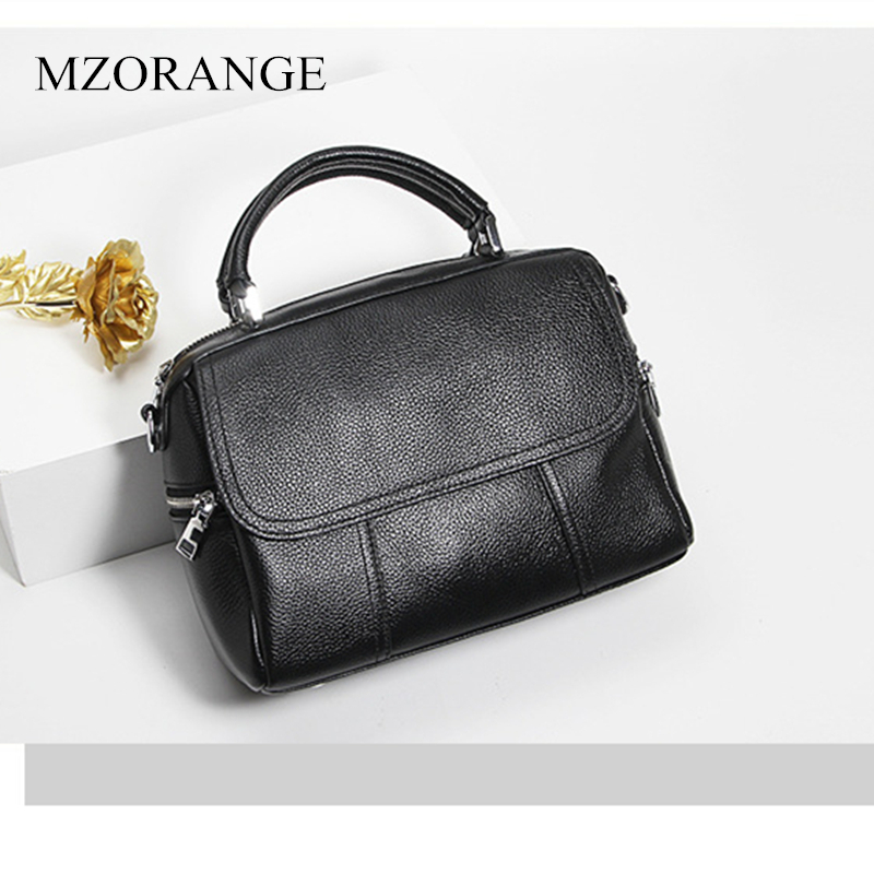 MZORANGE 100% Real Leather Women shoulder Bag 2019 New Arrival Women Bag Crossbody Bags For Women Ladies Luxury HandbagMZORANGE 100% Real Leather Women shoulder Bag 2019 New Arrival Women Bag Crossbody Bags For Women Ladies Luxury Handbag