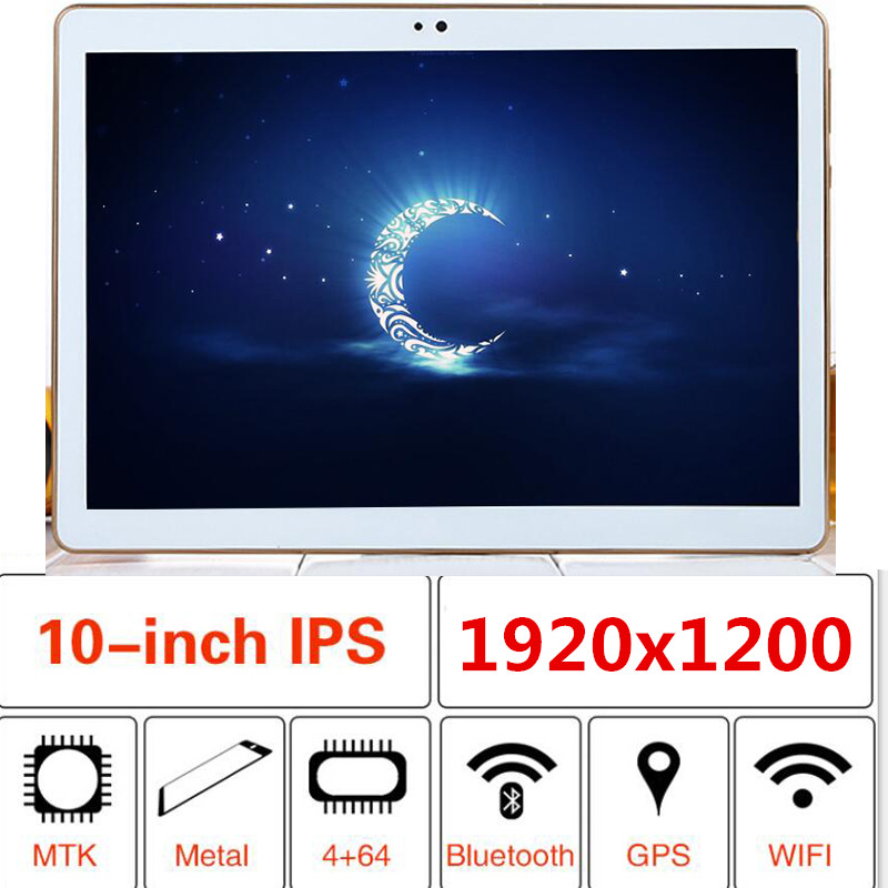 Android 8.0 Smart tablet pc android tablet pc 10.1 pouces 10 core MT6797 tablet ordinateur Ram 4 GB Rom 32 GB 1920X1200 8MP