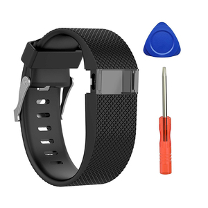 Image 5 - For Fitbit Charge HR Replacement Watch Strap Silicone Watchband for Fitbit Charge HR Activity Tracker Metal Buckle Wrist Band