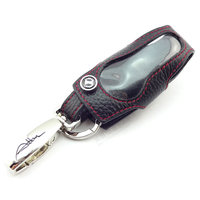 Genuine leather key FOB cover for AMG A45 GLA45 CLA45 C450 C63 SLK55 GT CLS63 M GL GLE SL GS SLS CL keychain auto accessories