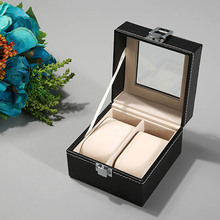 Hot selling luxury PU Leather Watch Display Box Storage Holder Organizer Watch Case Jewelry Display Watch Boxx цена и фото