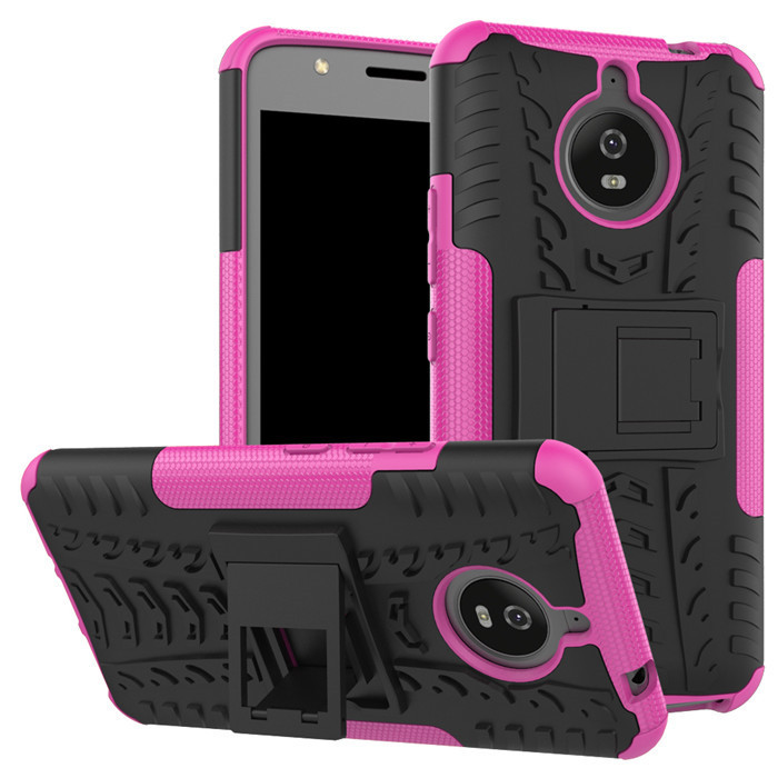 Для Motorola Moto E4/E4 плюс ЕС Версия случае Heavy Duty Hybrid Броня TPU + PC телефона чехол крышка для MOTO E4 Plus