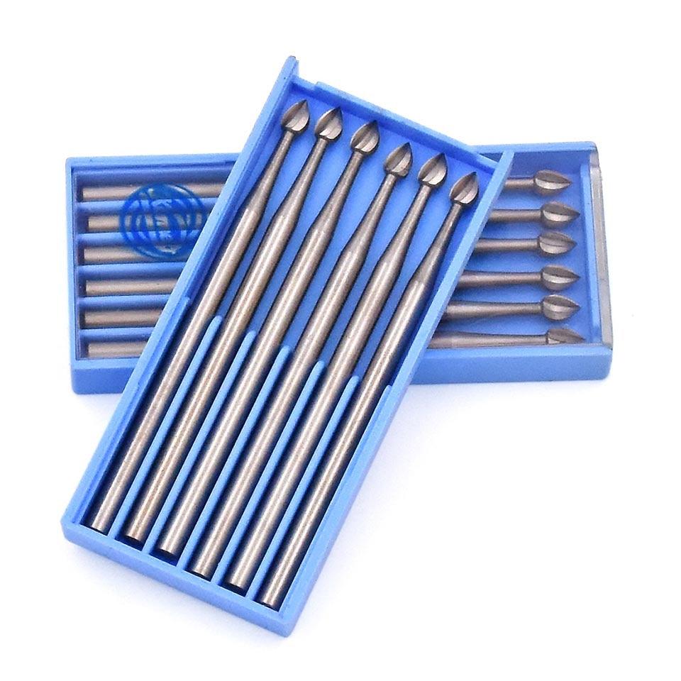 6 stks Rotary Schurende Tool Dental Lab Polijsten Afwerking Ronde - Schurende gereedschappen - Foto 3
