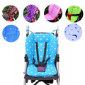 Amazing Baby Stroller Cushion Child Cart Seat Cushion Pushchair Cotton Dot Thick Baby Car Pad
