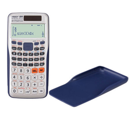 New Scientific font b Calculator b font with Dual Power 12 digits AA battery 991ES Plus