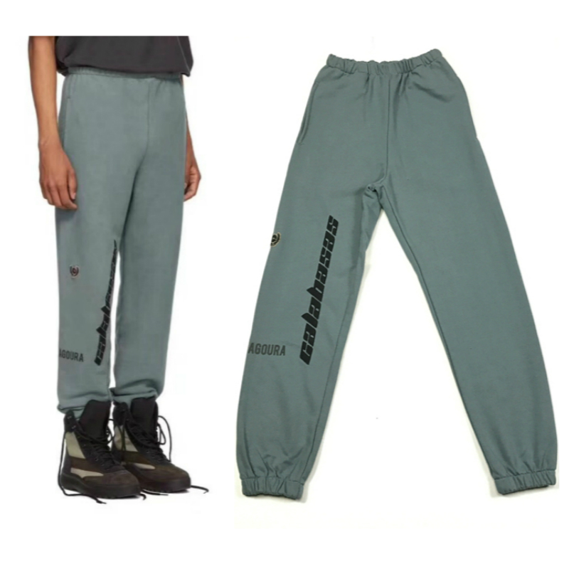 Youthcodes Hip Hop Kanye West Season6 Pants Skateboards Calabasas Sweatpants Men Cotton Thick Beam Cargo Harem Pant Men Cloth We Take Customers As Our Gods Cargo Pants