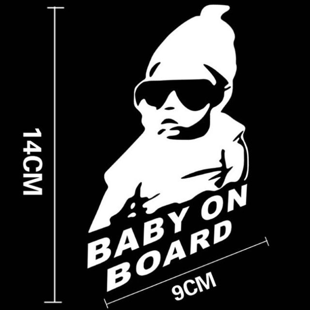 """Baby On Board"" Car Sticker"