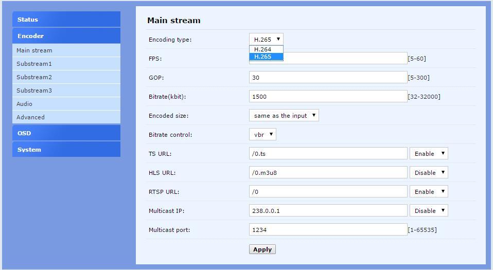 4CH .265 / H.264 SDI Video Encoder unterstützt RTMP für die - Heim-Audio und Video - Foto 3