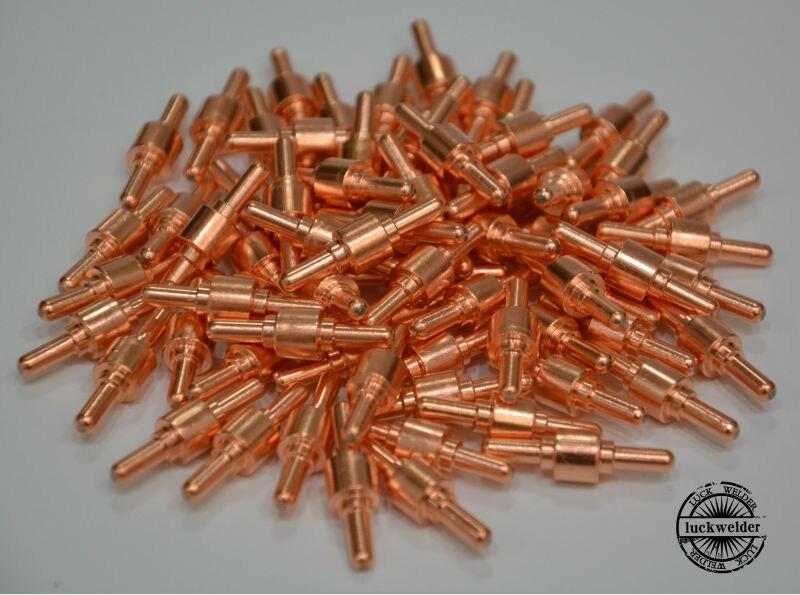 30//40A PT-31 Air Plasma Cutter Cutting Torch Consumables Gun Spare Parts 100pcs