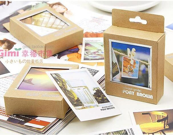 Free ship10box400pc creative stationery mini greeting card free ship10box400pc creative stationery mini greeting card message card carton box packing business card40pc into in business cards from office m4hsunfo