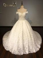 Gorgeous Ball Gown Lace Wedding Dress Vestido De Novia Princesa Vintage Wedding Dresses Real Image Bridal