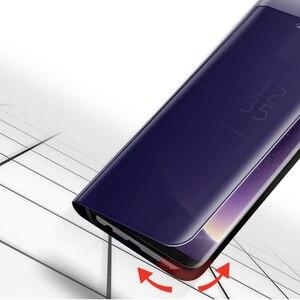 Image 2 - FDCWTS Flip Caso Capa De Couro Para Samsung Galaxy A3 2017 A5 2017 A7 2017 A320F A520F A720F Luxo Visão Clara tampa da Caixa do telefone