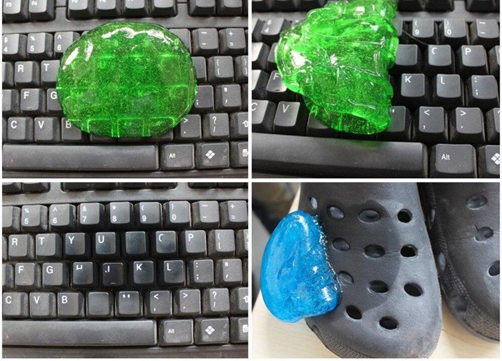 Keyboard Slime Dust Cleaning Magic Gel 14