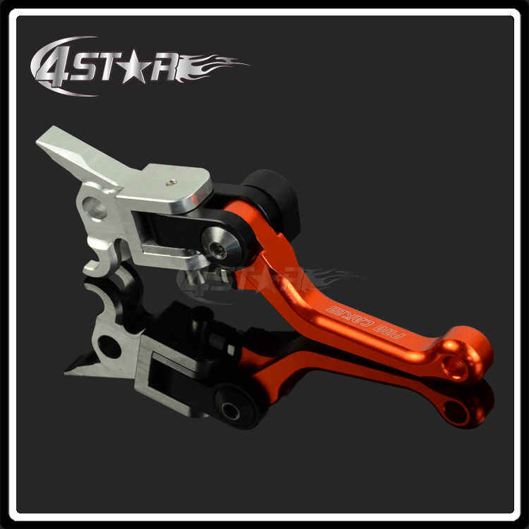 KTM 4 Directions Foldable Pivot Brake Lever For KTM EXC EXCF EXCR XC XCF XCW XCFW SX SXF 250 300 450 Motocross Enduro Supermoto 4 direct cnc pivot foldable clutch lever for ktm exc excf excr xc xcf xcw xcfw sx sxf smr sxr six days motocross dirt bike