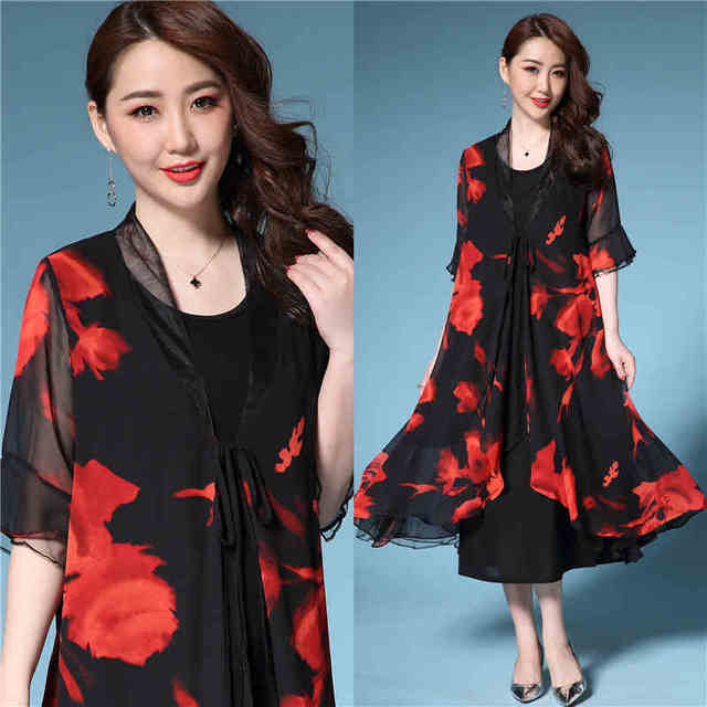 Aliexpress.com : Buy New2018Summer Middle Age Women Plus size ...