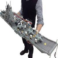 Banbao 8419 Военная Униформа серия авианосец 3016 шт. Пластик Building Block Наборы для ухода за кожей образования DIY Кирпичи Игрушечные лошадки для детей