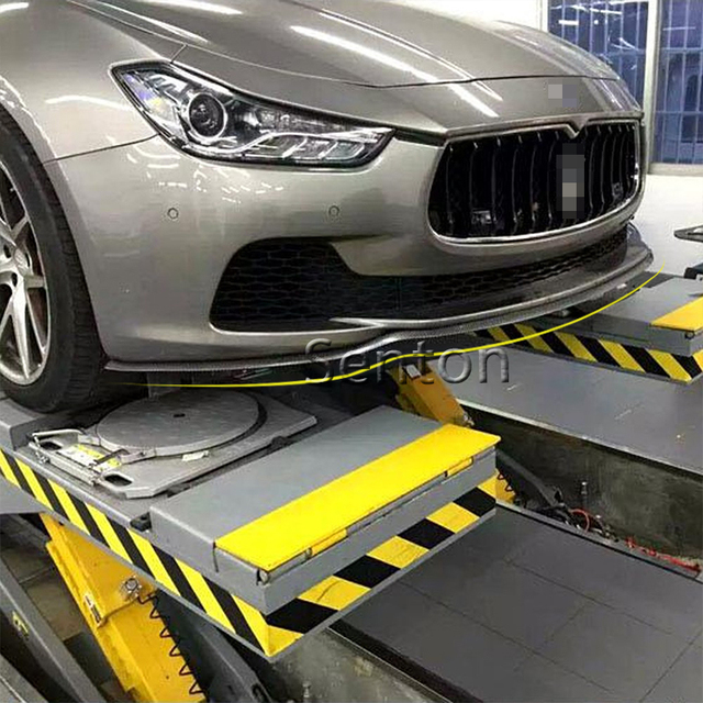 Labio frontal de fibra de carbono para coche 2,5 M para Porsche 911 Cayenne Macan XE para Jaguar XF XJ para Infiniti q50 FX35 G35 G37 Accesorios