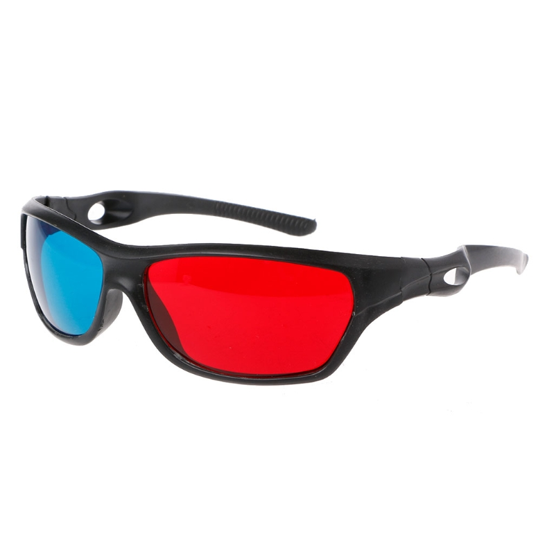 Universal Red Blue Anaglyph AR And 3D Glasses For Movie Game And DVD Video 4