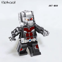 Marvel Avengers Super Heroes BIG ANTMAN ANT-MAN Large COMPATIBLE Building Block Set Toys for Child NEW Single Sale(China)
