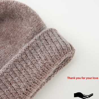 Winter beanies for women flower style 5