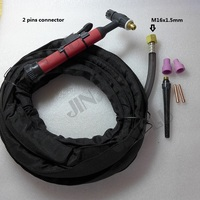 Soft Silica Get Flexible QQ150 QQ 150 QQ 150A TIG Welding Torch Complete Package With 4M