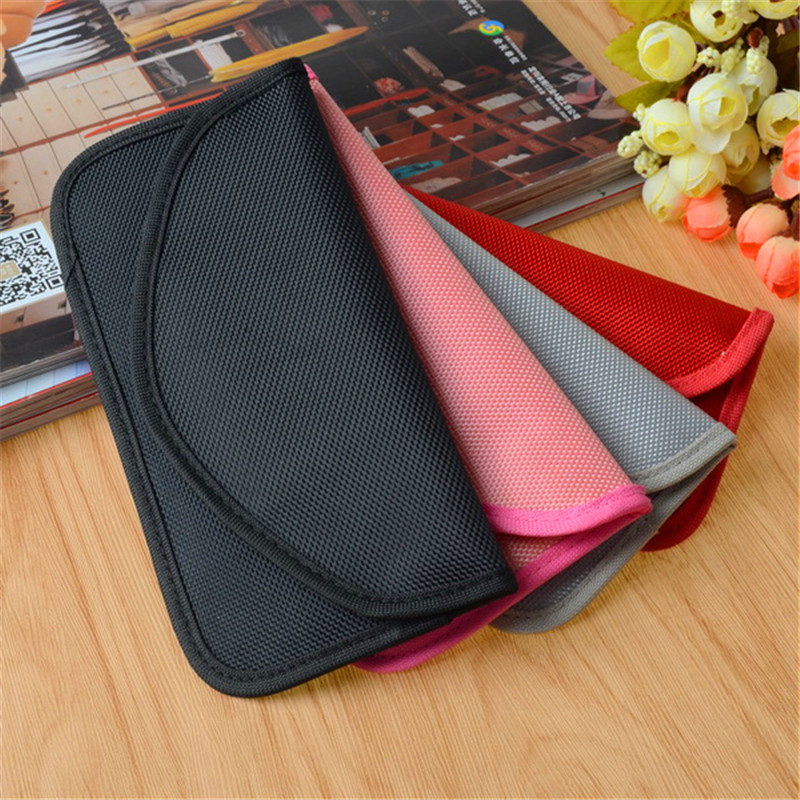 Universal Anti Radiation RF Signal Shielding Blocker Case Cell <font><b>Mobile</b></font> <font><b>Phone</b></font> Bag Pouch <font><b>Jammer</b></font> Pouch Case For iPhone For Samsung