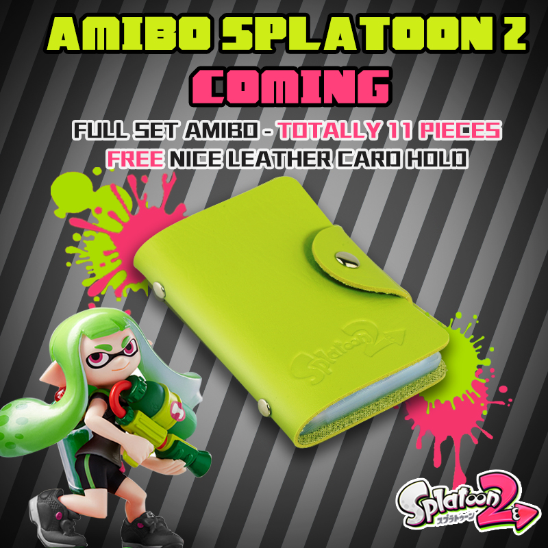 все цены на 11 Pieces Splatoon 2 Full Set NTAG215 Printed NFC Card Written by Tagmo Can Work For Switch онлайн