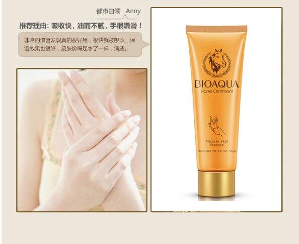Hand Skin Care BB Horse Oil Whitening Moisturizing Hand Cream Mini Cute Hand Nourishing Anti-Aging Keep Skin Energetic SBC003