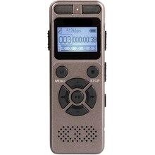 8 ГБ диктофон Usb бизнес портативный цифровой аудио рекордер с MP3-плеером поддержка Многоязычная Tf карта до 32 Гб