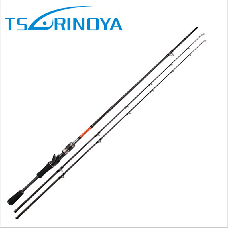 Tsurinoya 2 Tips Baitcasting Fishing Rod 2Section 2.1m/2.4m Power:M and ML Carbon Lure Rods Bass Pesca Stick Fishing Tackle trulinoya 2 13m power ml baitcasting fishing rod 2secs 6 14g carbon bass lure rods fuji accessories action mf pesca stick tackle