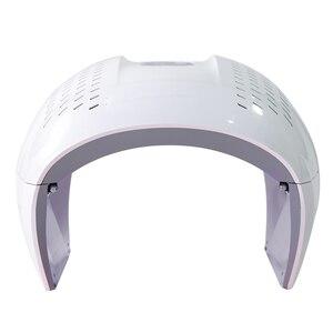 Image 3 - Горячая Распродажа, 4 цвета, красный/синий/фиолетовый/ИК PDT светодиодный светильник, фотодинамическая маска для лица, СВЕТОДИОДНЫЙ Прибор для ухода за кожей, омоложения, фотонная терапия