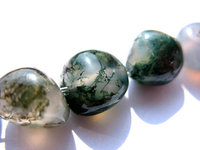 wholesale 5strands 4 12mm Natural Indian agate gemstone freeform nuggets chips green jewelry beads