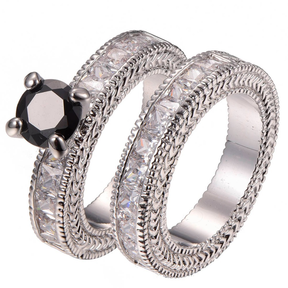 compare prices on black onyx engagement ring- online shopping/buy