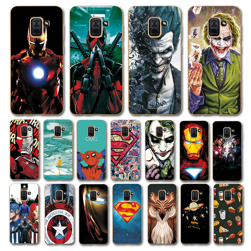 Newest Art Printed Case For Samsung Galaxy A8 2018 5.6
