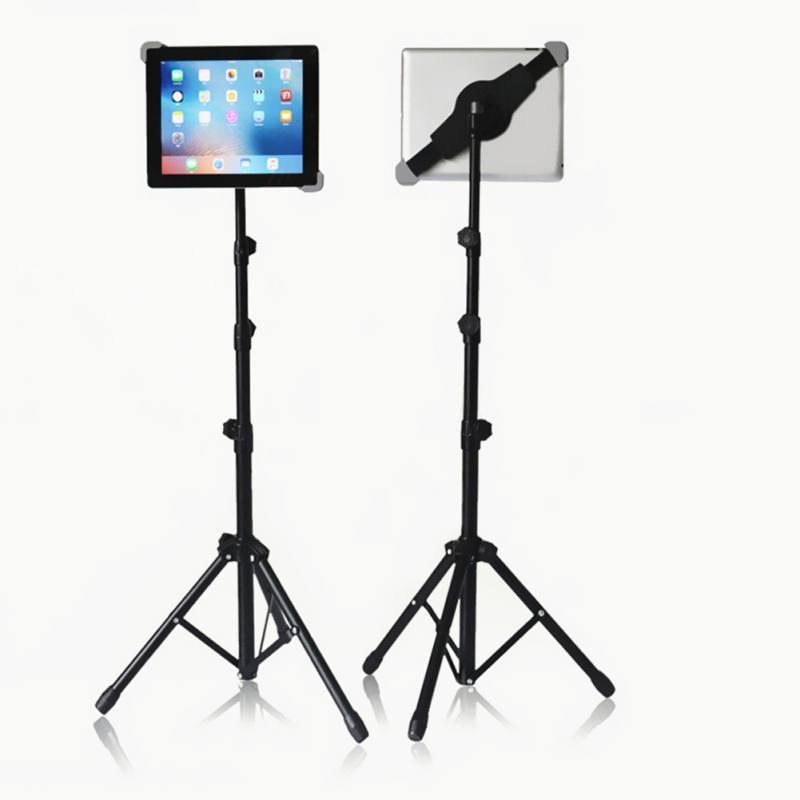 Планшет неподвижная подставка Регулируемый напольный держатель стенд Штатив Держатель для iPad 2/3/4 Mini Air планшетный ПК и аксессуары