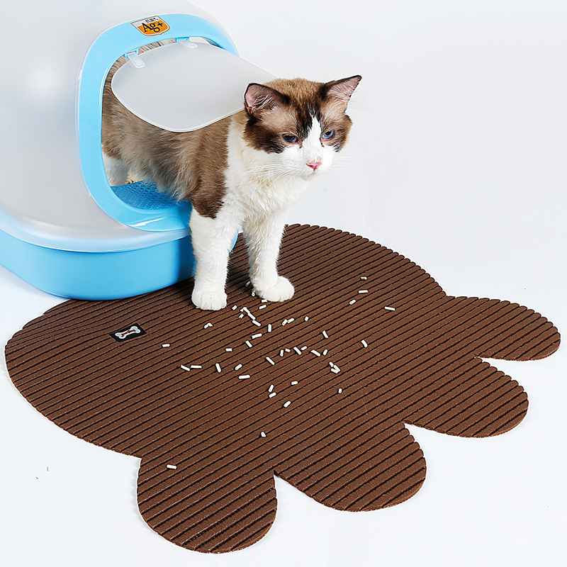 Large PVC Nonslip Pads for Cat's Toilet Pet Supplies Pet Toilet